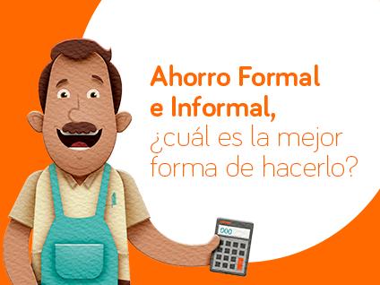 Imagen Ahorro formal e informal, ¿Cuál es la mejor forma de hacerlo?