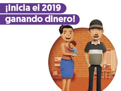 Imagen ¡Inicia el 2019 ganando dinero!
