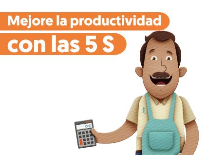 Mejore la productividad con las 5 S
