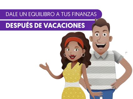 Dale un equilibro a tus finanzas después de vacaciones