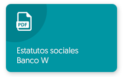 Ver PDF Estatutos Sociales Banco W