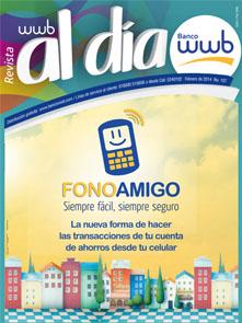 imagen Revista WWB al día Edición 107-FONOAMIGO siempre fácil,
