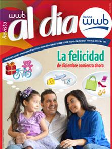 Imagen Revista WWB al día Edición 120-La felicidad de diciembre comienza