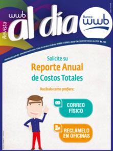 Imagen Revista WWB al día Edición 131-Solicite su reporte anual de…