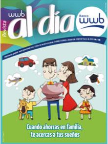 Imagen Revista WWB al día Edición 130-Cuando ahorra en familia te acercas
