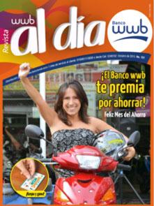 Imagen Revista WWB al día Edición 127-El Banco wwb te premia por ahorrar