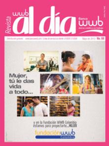 imagen Revista WWB al día Edición 98-Mujer, tú le das vida a todo…