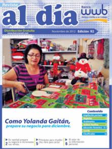 imagen Revista WWB al día Edición 92-Como Yolanda Gaitán prepare su…