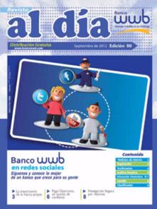 imagen Revista WWB al día Edición 90-Banco WWB en redes sociales
