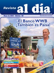 imagen Revista WWB al día Edición 88-El Banco WWB !Tambien es Paisa!