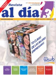imagen Revista WWB al día Edición 86-10 Claves de las mujeres empresaria