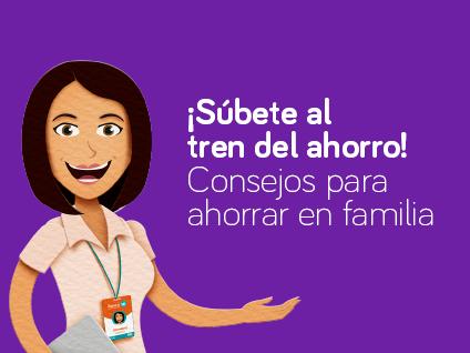 Imagen ¡Súbete al tren del ahorro! Consejos para ahorrar en familia
