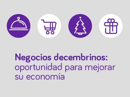 Imagen Negocios decembrinos: oportunidad para mejorar su economía