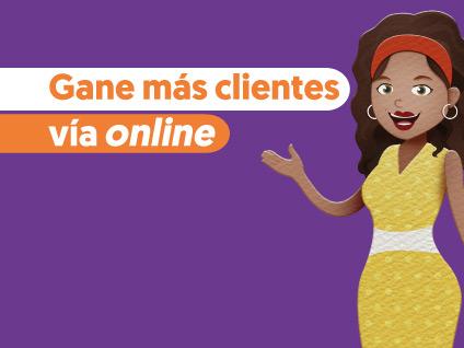 Imagen Gane más clientes vía online