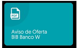 Ver PDF: aviso de oferta BIB Banco W
